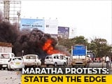Video : Maratha Quota Protest: A Reporter's Account Of Standoff At Kalamboli