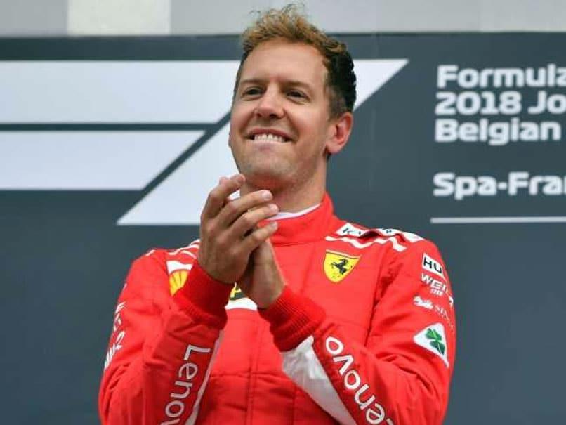 Belgian Grand Prix: Sebastian Vettel Cuts Lewis Hamilton