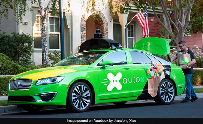 AutoX, US Startup That Deliver Groceries In Self-Driving
