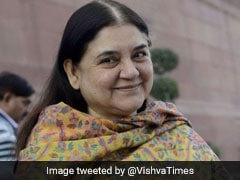 Trial Of Panic Button On Mobiles Done In 47 UP Districts: Maneka Gandhi