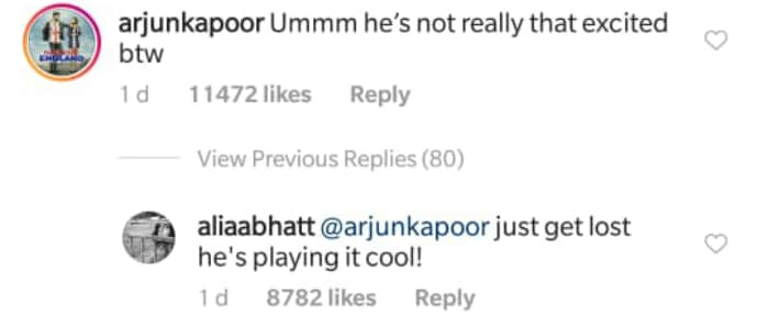 Arjun Kapoor S Comment On Alia Bhatt S Rakhi Pic Made Her Say Get Lost