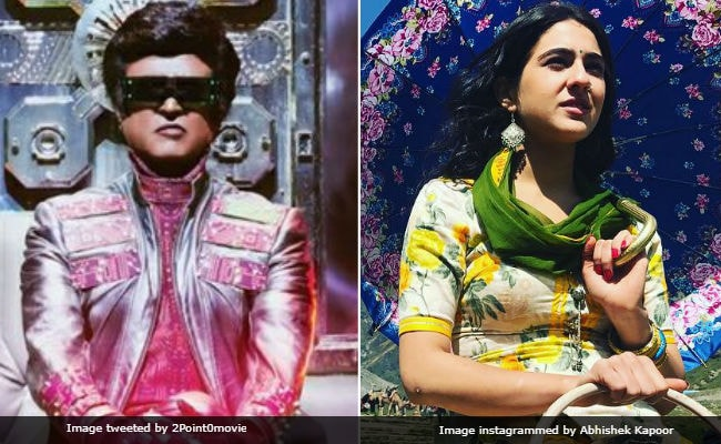 Rajinikanth's 2.0 Vs Sara Ali Khan's Kedarnath Is Not A Good Idea, Say Trade Pundits