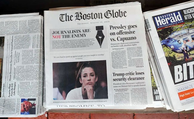 More Than 300 Newspapers Hit Back At Donald Trump, Defend Free Press