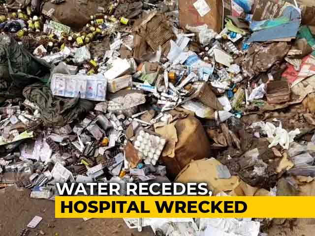 Video: 125-Year-Old Hospital, Among The Best In Country, Ruined In Kerala Floods