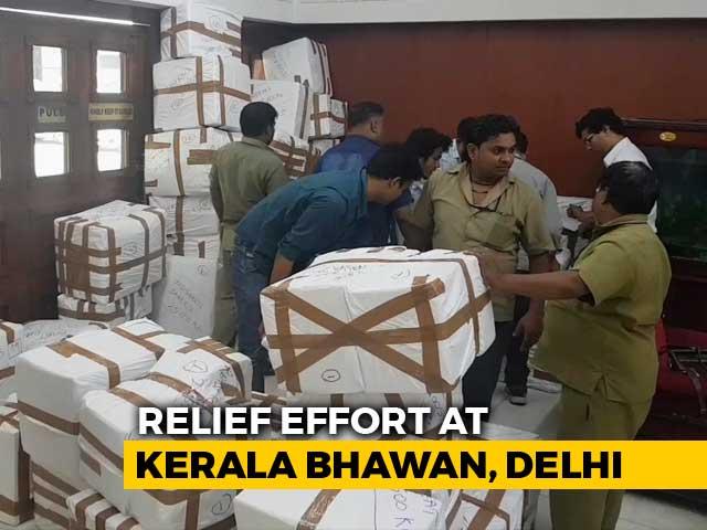 Video : From Delhi's Kerala Bhawan, Students List Essentials For Flood Survivors