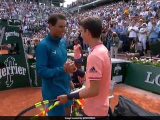 Watch: Rafael Nadal Makes Ball Boys Day At Roland Garros