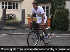 Wimbledon 2018: Rafael Nadal Goes Grocery Shopping On A Cycle