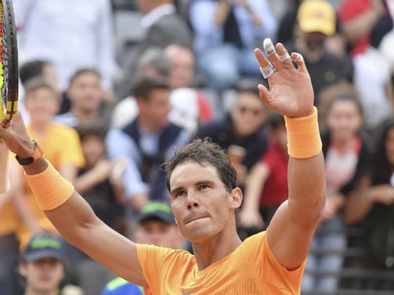 Nadal cruises into Italian Open third round, Thiem exit