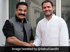 Kamal Haasan Meets Rahul Gandhi, Discusses Politics In Tamil Nadu