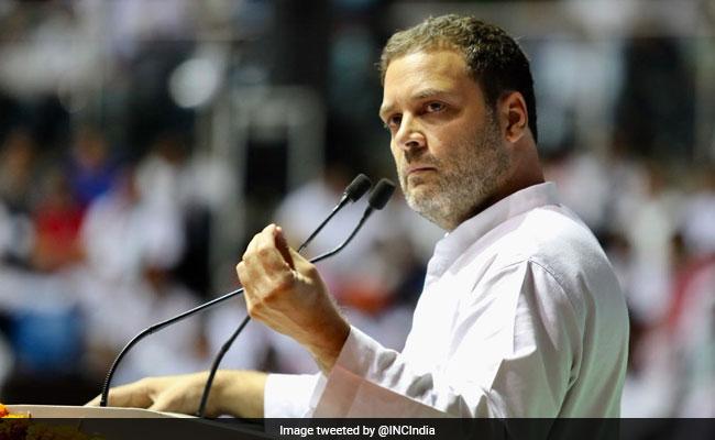 OBC सम्मेलन में राहुल गांधी बोले, आज हिन्दुस्तान BJP के दो-तीन नेताओं का गुलाम बन चुका है