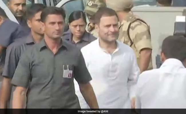 RSS मानहानि मामला: राहुल गांधी मुंबई पहुंचे, आज भिवंडी की कोर्ट में होंगे पेश