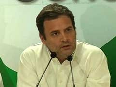 """PM Modi Is Corruption"": Rahul Gandhi's Combative Pitch Over Karnataka"