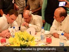 At Rahul Gandhi's <i>Iftar</i> Party, Pranab Mukherjee Has Place Of Honour