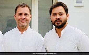 Tejashwi Yadav Endorses Rahul Gandhi, A 'Priyanka Chopra' Jab At PM Also