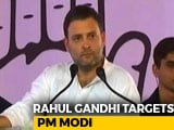Video : Rahul Gandhi Talks Of Arvind Kejriwal's Protest - Targets PM Modi