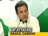 "Video : ""Why Is Rahul Gandhi Silent On I-T Notice To Robert Vadra?"", Asks BJP"