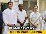 "Video : ""Let The Past Be History,"" Congress Said To HD Kumaraswamy At Meet"