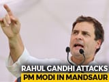 Video : BJP Government Has Failed The Farmers, Says Rahul Gandhi In Madhya Pradesh