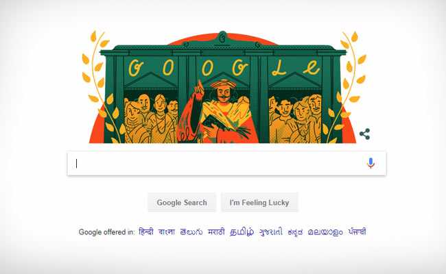 Google Doodle Remembers Raja Ram Mohan Roy, The 'Maker Of Modern India'