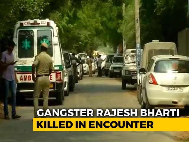 Video : Top Gangster Among 4 Killed In Fierce Gunfight With Cops In South Delhi