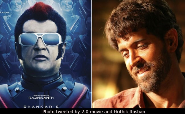 Will Rajinikanth's 2.0 Clash With Hrithik Roshan's Super 30?