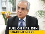 Video : Centre, State Should Cut Taxes On Fuel, Says Niti Aayog Boss