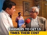 Video : NITI Aayog's Rajiv Kumar On MSP Hike For Kharif Crops