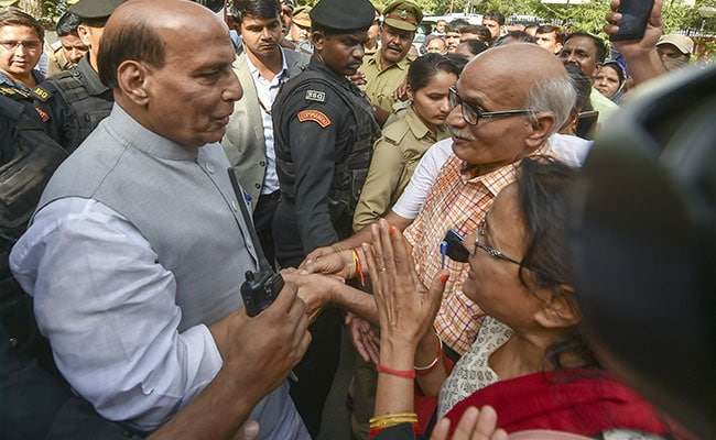 To Free Jammu And Kashmir Of Terrorism Is The Only Aim, Says Rajnath Singh
