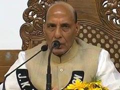 Extending Ramzan Ceasefire A Security Challenge, Rajnath Singh Told