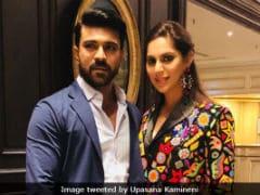 Trending: Ram Charan Spotted At Akhil Akkineni's Ex-Fiancee Shriya's Pre-Wedding Party