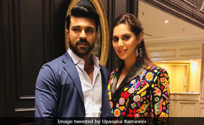 Trending: Ram Charan Spotted At Akhil Akkineni's Ex-Fiancee Shriya's Pre-Wedding Party