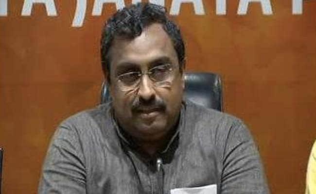 अनुच्छेद 35-ए पर बोले BJP महासचिव राम माधव, मोदी सरकार वही करेगी जो राज्य के हित में होगा