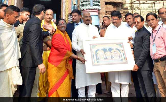 Odisha Police Says 'Security Cordon Was Breached' During President Visit