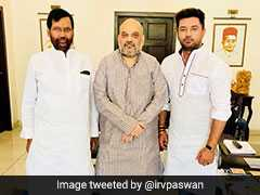 Ram Vilas Paswan, Son Chirag Meet Amit Shah In Row Over 2019 Pact