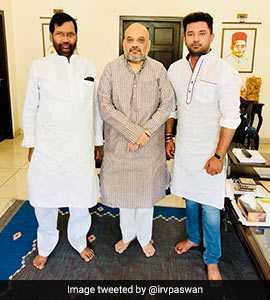 Ram Vilas Paswan Raises Bihar S Special Status Demand With Amit Shah