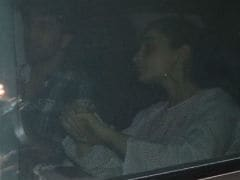 <i>Brahmastra</i>: Ranbir Kapoor, Alia Bhatt Leave Sets Together, Paparazzi Blocks Their Way