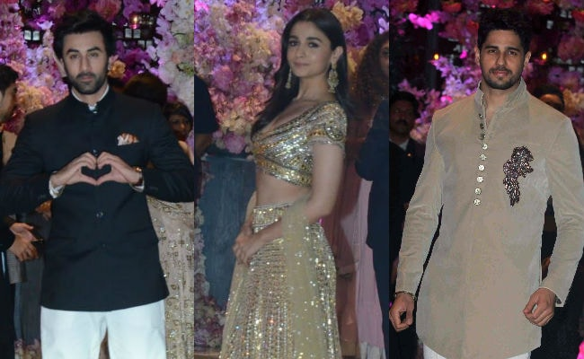 When Alia Bhatt Reportedly Met Rumoured Ex Sidharth Malhotra At Ambani Party (Ranbir Kapoor Was Also There)