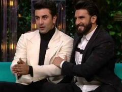 After <I>Sanju</I>, Ranbir Kapoor Is Seen As Ranveer Singh's 'Competition.' Or So He Says