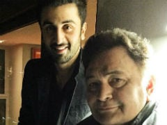 <i>Sanju</i>: 'Cheers, Ranbir. You Don't Know How Proud Your Parents Are.' Rishi Kapoor's Message For Son