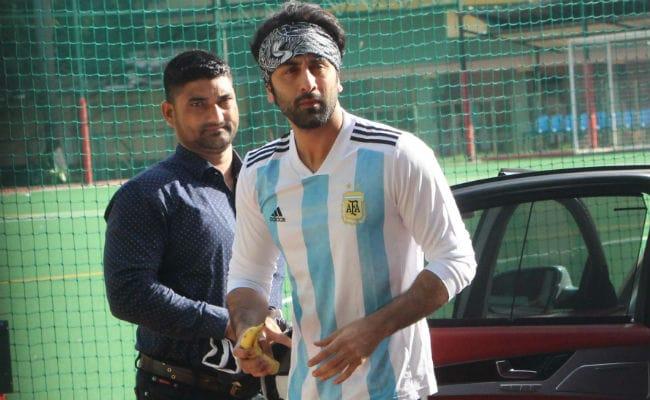 Trending Pics From Ranbir Kapoor's Football Match With Cousins Armaan And Aadar