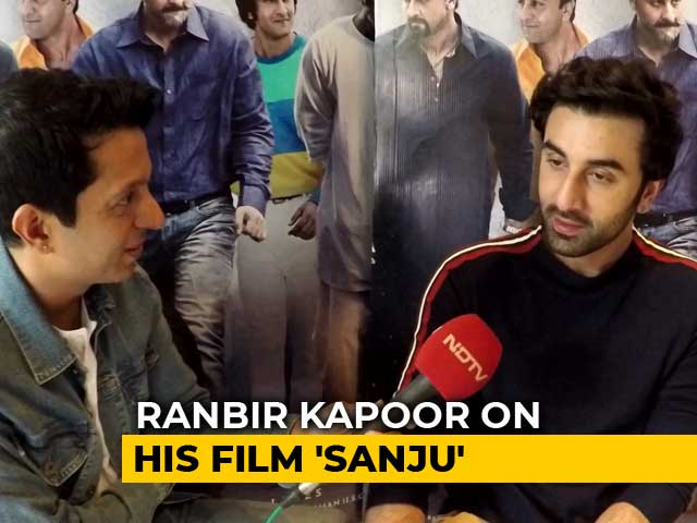 #Just2Questions: Sanju Is Not Made To Glorify Sanjay Dutt - Ranbir Kapoor