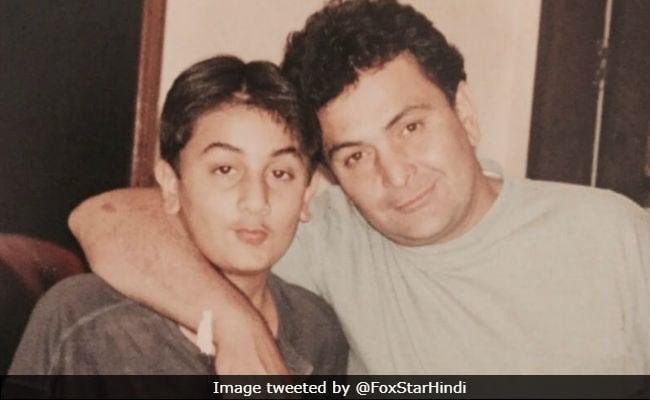 On Father's Day, Ranbir Kapoor Shares 'Awkward Teenager Moment' With Real Dad Rishi Kapoor And 'Jaddu Ki Jhappi' With Reel Dad