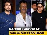 Video : Watch! Ranbir Kapoor, Rajkumar Hirani & Others At The Success Party Of <i>Sanju</i>