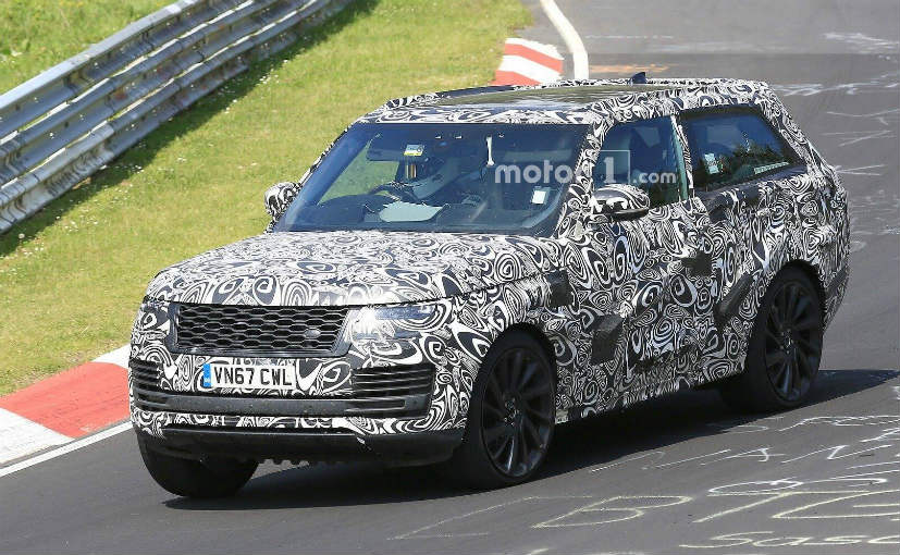 Only 999 units of the Range Rover SV Coupe will be manufactured