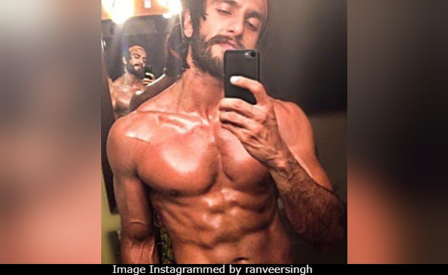 How About This Ranveer Singh Photo For Some 'Monday Motivation'?