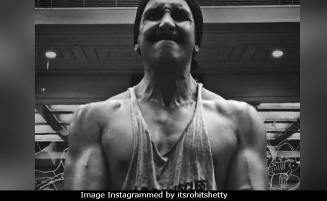 Ranveer Singh Will Only Stop After Setting The Gym On Fire, Or So It Seems