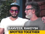Video : Ranveer Singh Spotted Outside Rakeysh Omprakash Mehra's Office