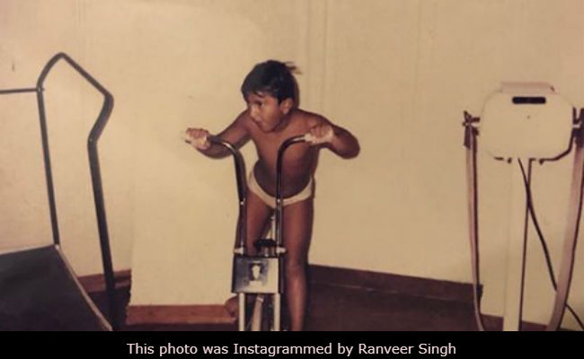 Little Ranveer Singh Hilariously Getting His Cardio Fix Will Make Your Monday Less Blue