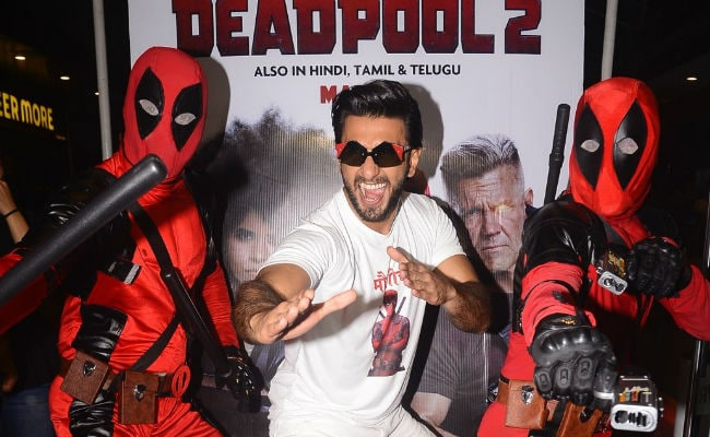 Ranveer Singh Dubbed For Deadpool 2 To 'Give Gallis Onscreen'