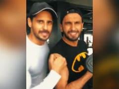 Ranveer Singh Ropes In Sidharth Malhotra And Aditya Roy Kapur In Fitness Challenge Video